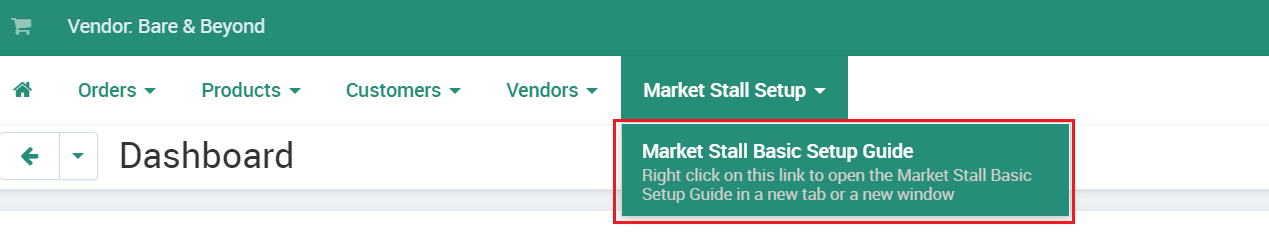 Access Market Stall Setup Guide
